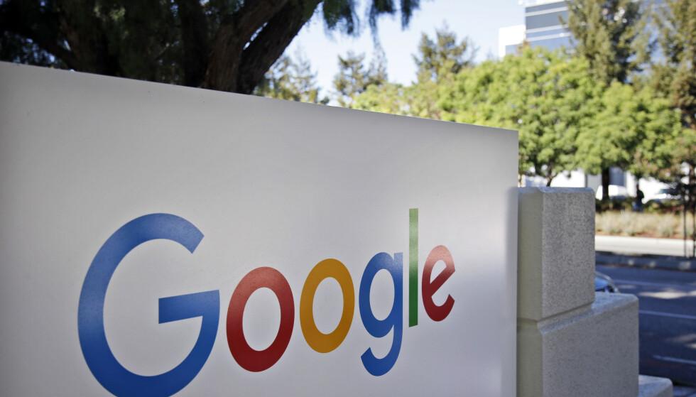 DOMENE: En kort periode onsdag i forrige uke mistet Google kontrollen over sitt argentinske domene. Foto: AP Photo/Marcio Jose Sanchez, File