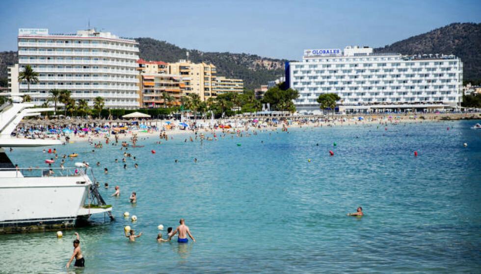 ÅPNER: Allerede i sommer åpner Spania for turister. Foto: Christian Roth Christensen / Dagbladet