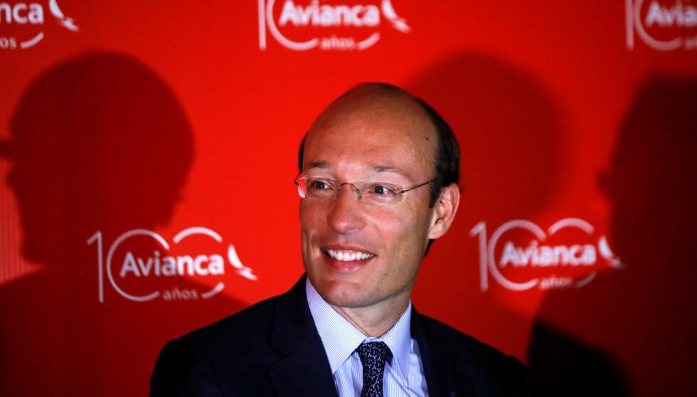 BLIR SAS-SJEF: Nederlandske Anko Van der Werff, som i dag leder det colombianske flyselskapet Avianca, er ansatt som ny konsernsjef i SAS. Foto: Jose Cabezas / Reuters