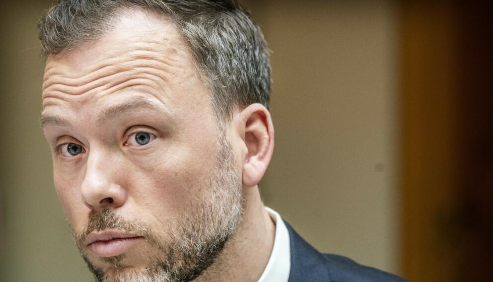 FORANDRING: - Folk er lut leig og vil ha forandring, sier SV-leder Audun Lysbakken om den overveldende støtten til høyere skatt for de rike. Foto: Hans Arne Vedlog / Dagbladet