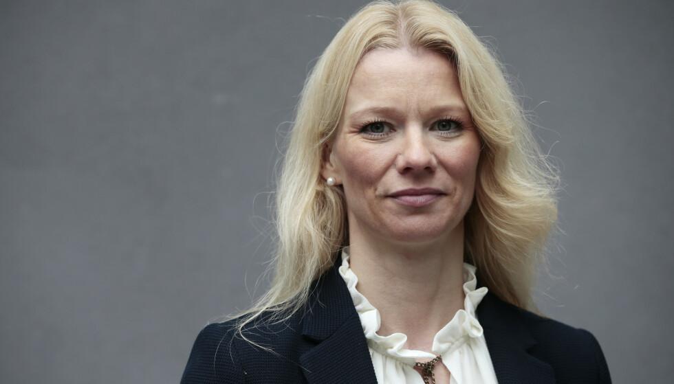 KJØPER BITCOIN: Sjeføkonom i Handelsbanken Kari Due-Andresen har kastet seg på kryptobølgen. Foto: Lise Åserud / NTB