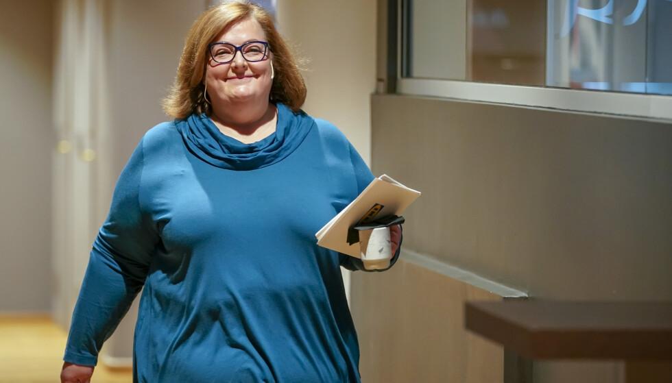 SLUTTER: Administrerende direktør i Ikea Retail Norge, Clare Rodgers, slutter i jobben. Foto: Heiko Junge / NTB