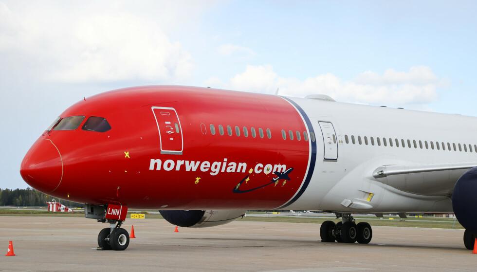 KONKURSBEGJÆRING: Norwegians svenske datterselskap, Norwegian Air Sweden AB. Foto: Ørn E. Borgen / NTB