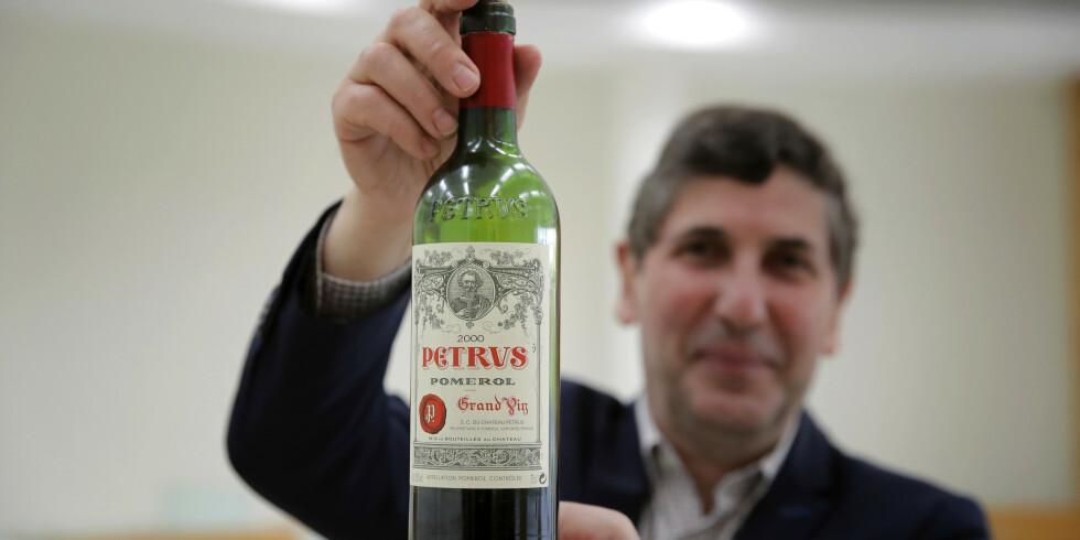 Image: Selger vin fra verdensrommet