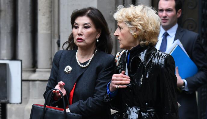 KRIG MOT EKSMANNEN: Lady Hiroko Barclay (t.v.) tok saken til retten da eksmannen ikke betalte ut det hun hadde krav på. Fot0: Kirsty O'Connor / NTB