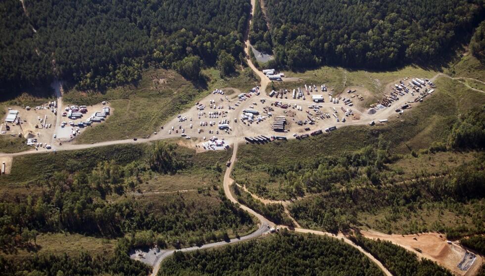 ANGREPET: Et dataangrep har ført til midlertidig stans i driften av rørledninger som leverer rundt 45 prosent av alt drivstoff på USAs østkyst, opplyser operatøren. Foto: Brynn Anderson / AP / NTB