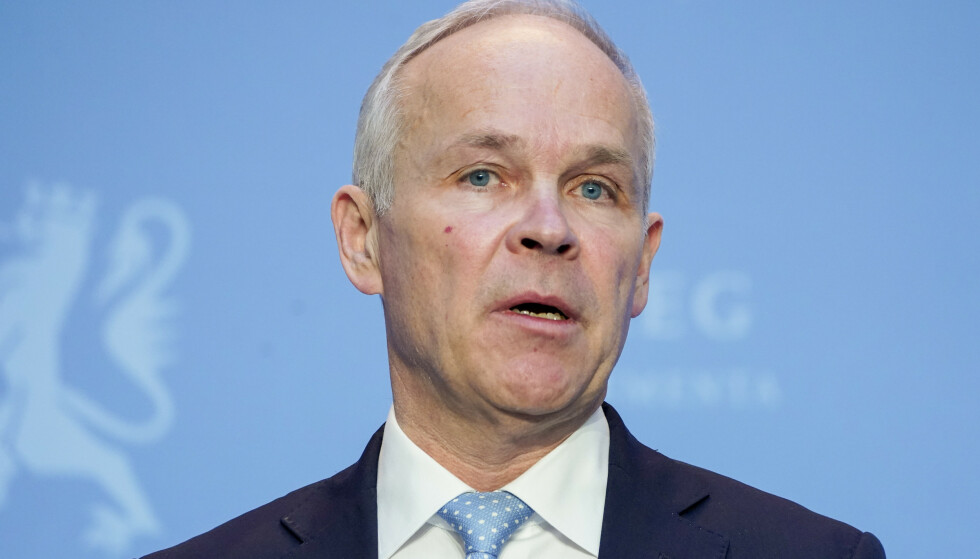 RNB: Finansminister Jan Tore Sanner. Foto: Håkon Mosvold Larsen / NTB