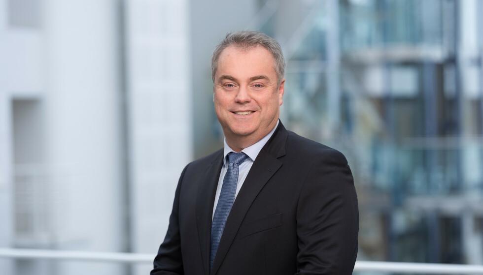 SKUFFET: Norgessjef og konserndirektør i SAS, Kjetil Håbjørg. Foto: SAS