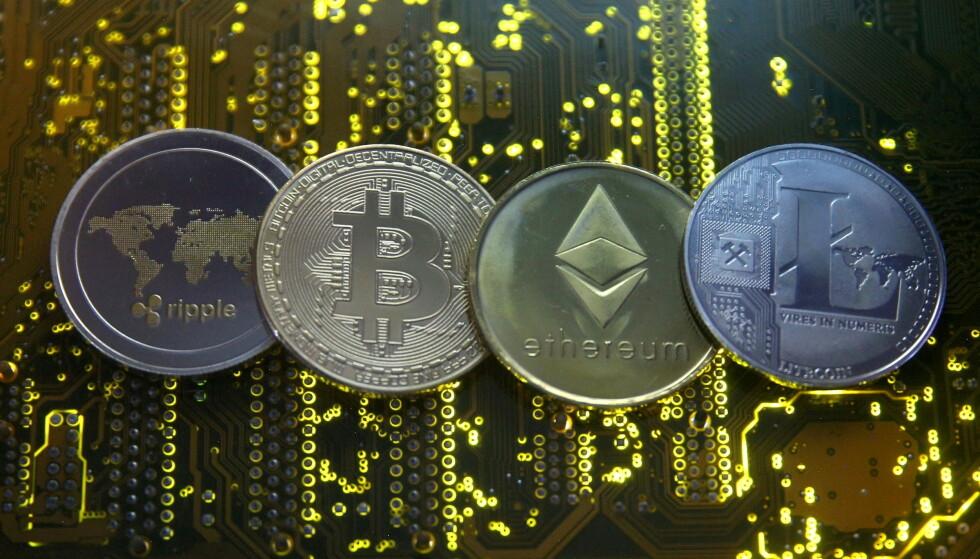 - KAN TAPE ALT: Storbritannias sentralbanksjef advarer alle som tenker på å investere i kryptovaluta, som Ripple, bitcoin, etherum og Litecoin , om at de må være forberedt på at de kan miste alle pengene. Foto: Dado Ruvic / Reuters / NTB