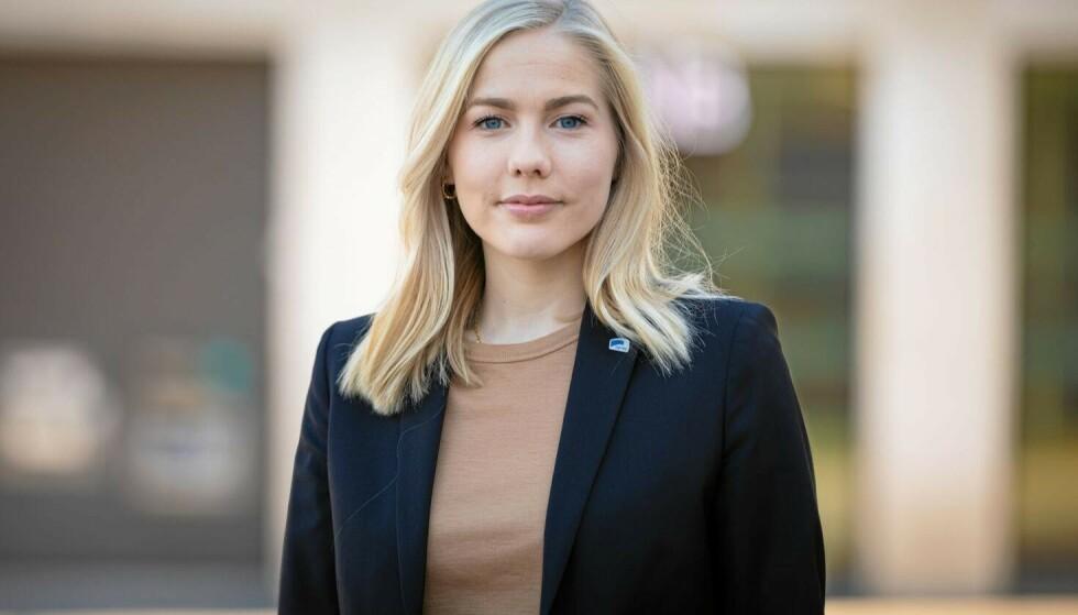 SV-INNRØMMELSE: SV innrømmer at politikken deres vil føre til at rike mennesker vil flytte, mener Mari Holm Lønseth. Foto: Hans Kristian Thorbjoernsen / Høyre