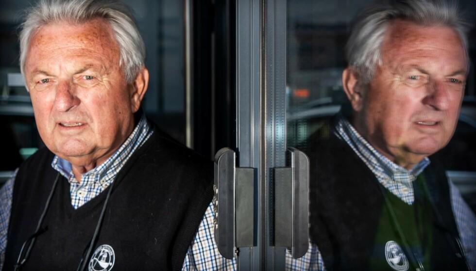 SER RØDT: Forretningsmann Thor Jegard lå i konflikt med Ferd Eiendom i flere år. Til slutt fikk han tilkjent nesten 70 millioner. Foto: Hans Arne Vedlog