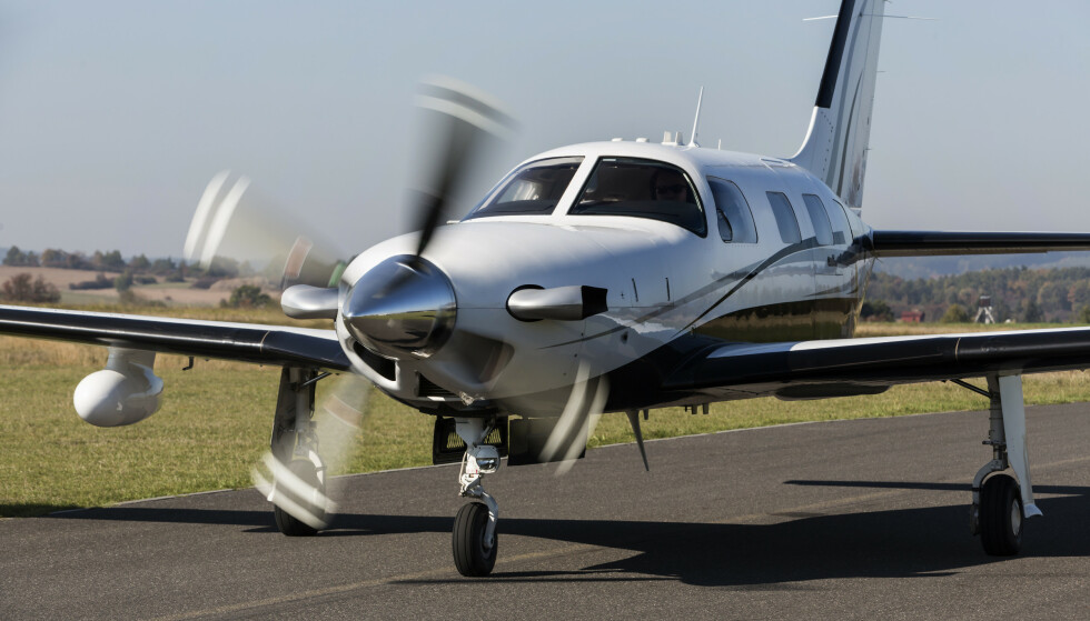 M6000: Flyet er av typen Piper Aircraft M6000. Foto: Nadezda Murmakova / Shutterstock / NTB