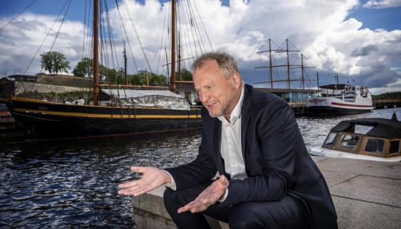 KREVENDE: Raymond Johansen understreker at arbeidet med gjenåpningen er svært omfattende og at det er mange hensyn som må tas. Foto: Hans Arne Vedlog / Dagbladet