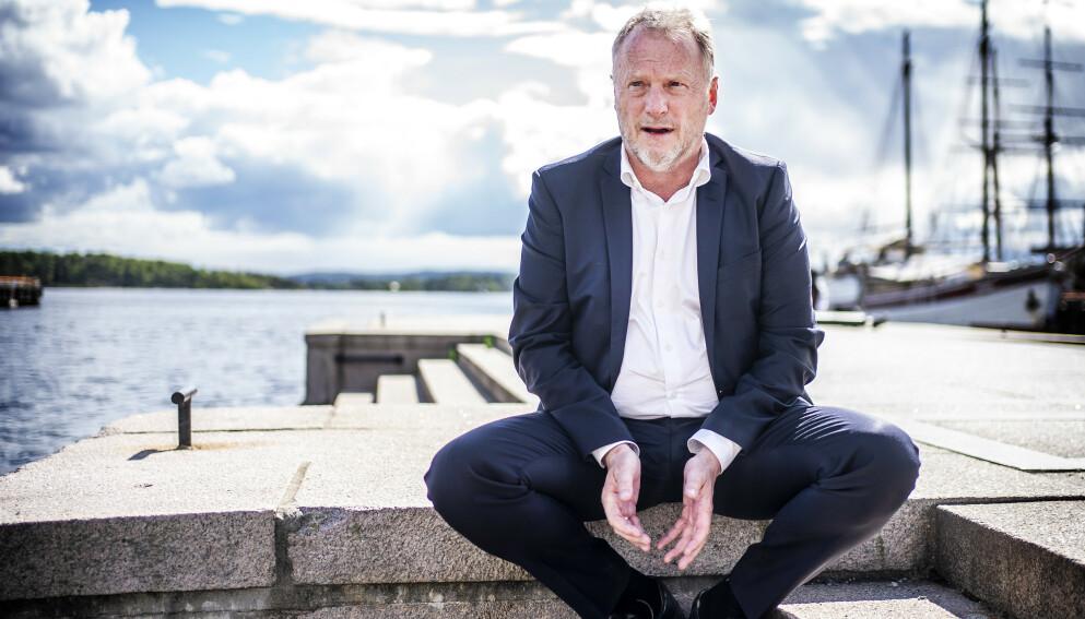 GJENÅPNER BYEN: Byrådsleder Raymond Johansen (Ap) kunne fredag annonsere at Oslo går videre med gjenåpningsplanen. Likevel er han bekymra for arbeidet man nå skal ta fatt på i Oslo. Foto: Hans Arne Vedlog / Dagbladet