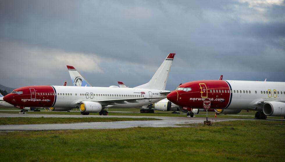 STYRER UT AV KRISA: Torsdag ble det åpnet konkurs i Norwegian Ground Handling AS og Norwegian Cargo AS. Foto: Carina Johansen / NTB