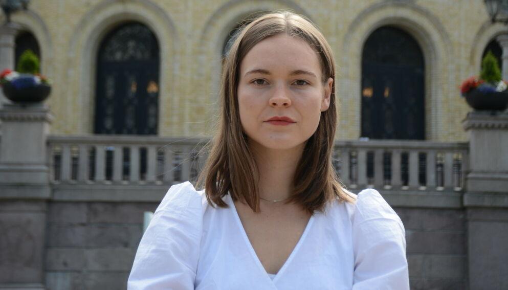 UT MOT FACEBOOK: Ulrikke Torgersen har selv opplevd netthets. Nå vil hun endre loven for teknologigigantene. Foto: Miljøpartiet De Grønne