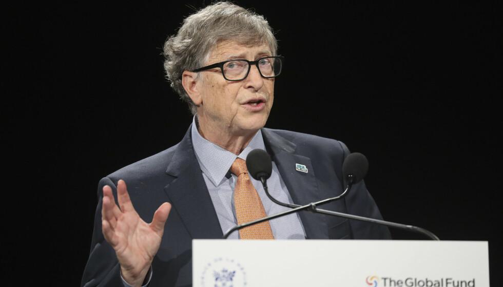 RIKING: Bill Gates er blant verdens rikeste menn. Nå anklages mannen som forvalter pengene hans for å skape et giftig arbeidsmiljø. Foto: Ludovic Marin / AP / NTB