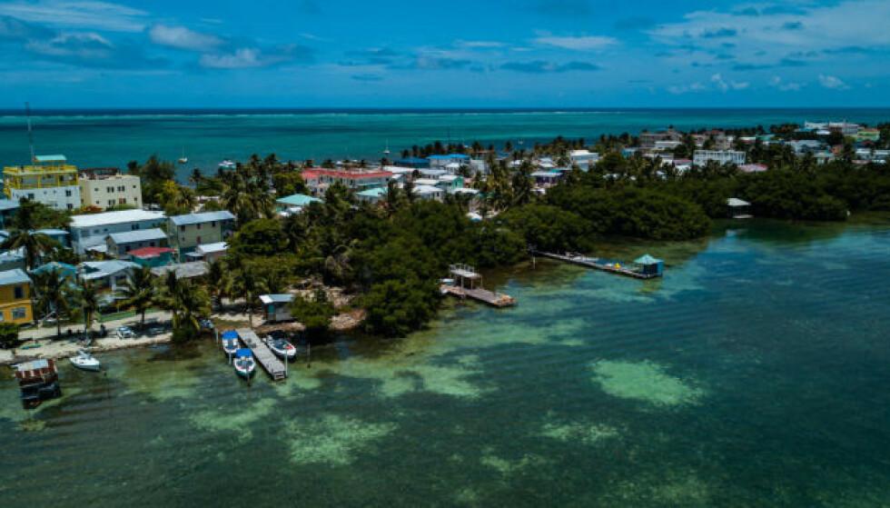 DREPT: Det var i byen San Pedro i Belize at Jemmott ble funnet skutt og drept. Foto: DuyAN / Shutterstock / NTB