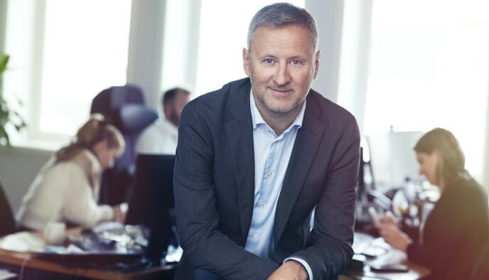 Sjeføkonom: Frank Jullum i Danske Bank Norge. Foto: Danske Bank / Sturlason