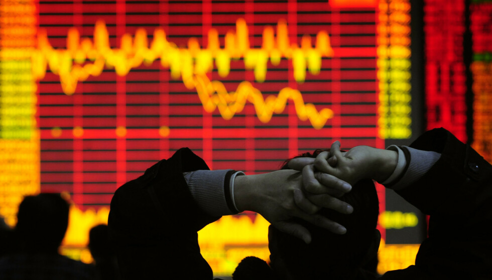 ADVARER: Den tyske storbanken Deutsche Bank kommer med en klar advarsel for verdensøkonomien, i en alternativ analyse. Illustrasjonsfoto: Reuters / NTB