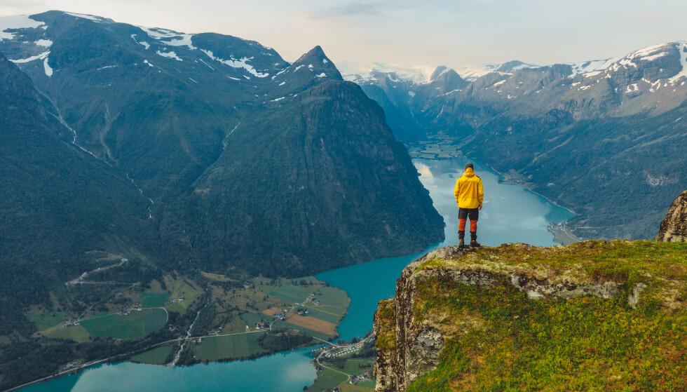 OLDEDALEN: 20 minutter unna Lodalen finner du den nærmest identiske dalen Oldedalen. Foto: Ruben Soltvedt