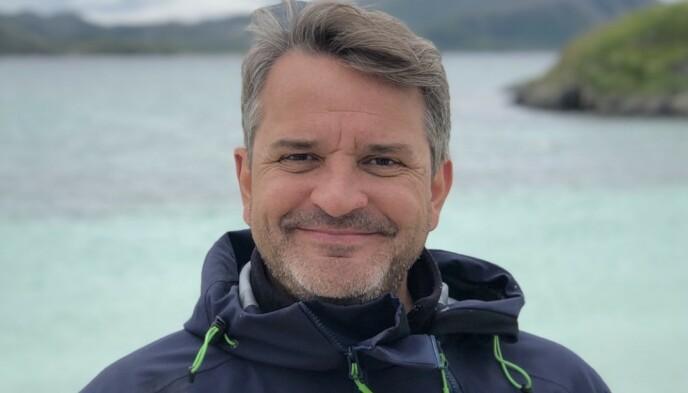 FRYKTER FOR FRAMTIDA: Franskfødte Franck Vogt har gjort karriere på å selge Norge til utenlandske turister. Nå frykter han for framtida, dersom ikke myndighetene stiller opp med videre støtte. Foto: Privat