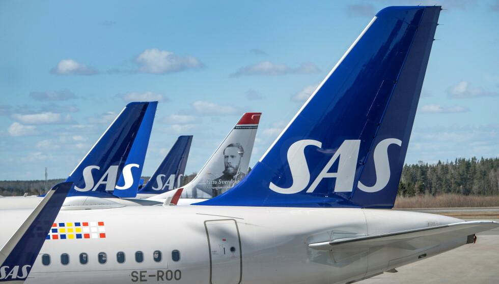 VILLE HJEM: Da SAS ble rammet av streik, håpet de norske turistene at selskapet skulle punge ut for hjemreisen med privatfly. Foto: TT News Agency / NTB