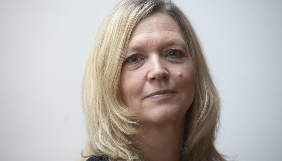 TYDELIG: Arbeidslivsdirektør Nina Melsom i NHO mener tida er overmoden for å slippe folk ut av hjemmekontoret. Foto: Terje Bendiksby / NTB