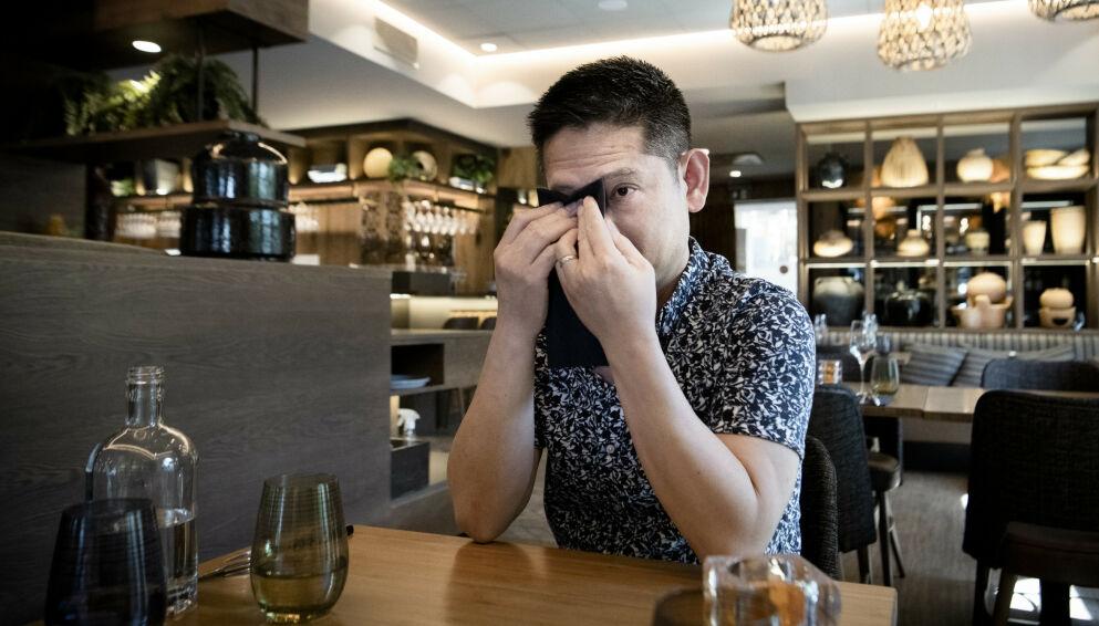 OPPGITT: Tri Hai Le gründet og drev restauranten Xích Lô på Egertorget i Oslo. Nå må han gi seg på grunn av corona-relaterte problemer. Foto: Lars Eivind Bones / Dagbladet