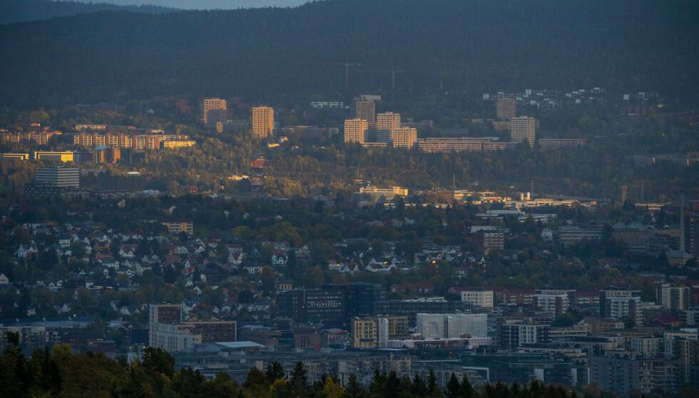 ØKER: Forskjellene i Norges største by og hovedstad øker, ifølge en rapport SV har laget. Her fra Groruddalen. Foto: Håkon Mosvold Larsen / NTB