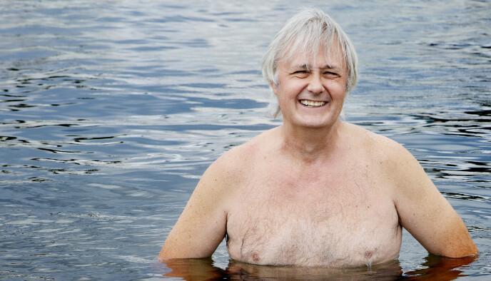FERIEKONGEN: Eirik Reberg har 60 ukers ferie - med tilhørende feriepenger - i banken. Foto: Kristin Svorte