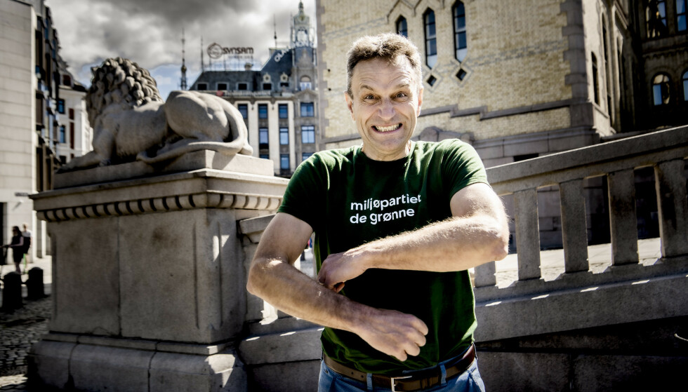 KRITISK: Arild Hermstad, fungerende leder i MDG. Foto: Lars Eivind Bones / Dagbladet