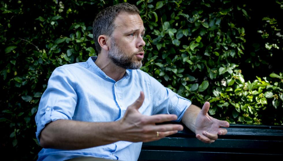 NEI TIL NYTT: SV-leder Audun Lysbakken mener Norge må ta et globalt initiativ for å få andre oljeproduserende land med på en plan om å si nei til mer leting. Foto: Bjørn Langsem / Dagbladet