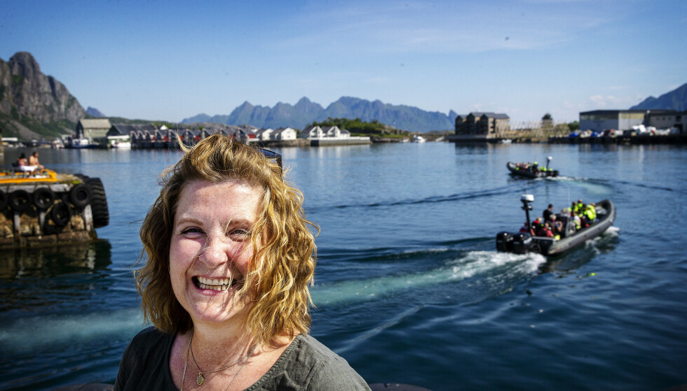 REISELIVSSJEF: Line Samuelsen, reiselivssjef i Lofoten, mener at årets turistsesong blir avgjørende. Foto: Henning Lillegård / Dagbladet