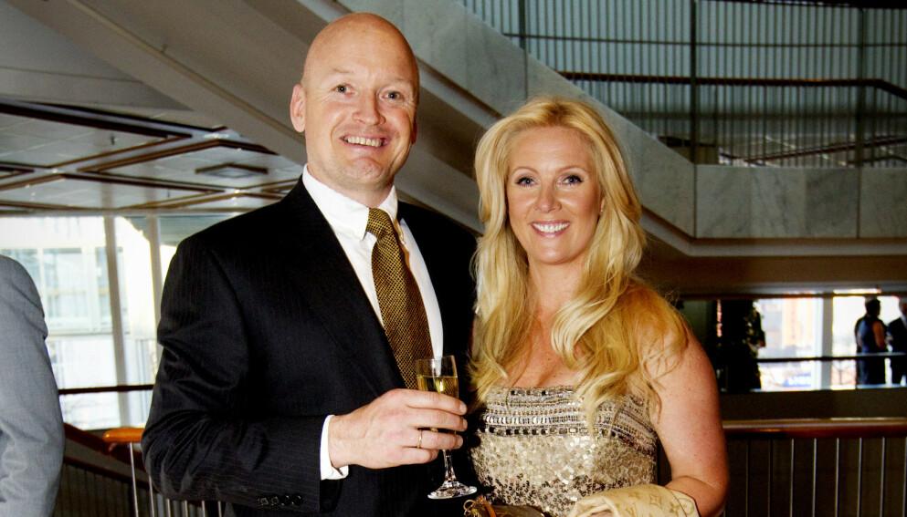 AVVIKLER SELSKAPET: Trine-Lise Jagge avvikler selskapet Dynamic People, som hun og ektemannen Finn Christian «Finken» Jagge etablerte sammen. Her er de to avbildet sammen i 2010. Foto: Kyrre Lien / NTB