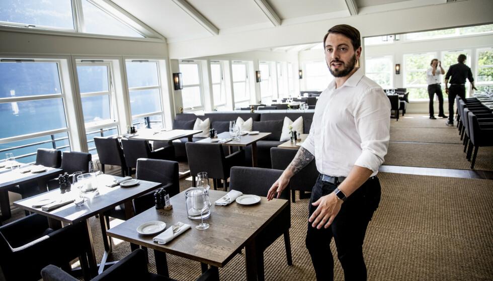 INGENTING: Grande Fjord Hotel i Geiranger har utsatt åpning i håp om å oppleve en pågang liknende fjoråret. - Vi mister nesten 70 prosent av sesongen, sier hotellsjefen til Dagbladet. Foto: Christian Roth Christensen / Dagbladet