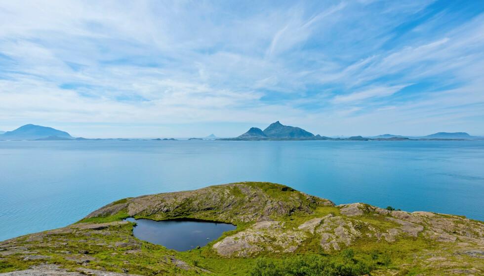 UTSIKT: Her får du virkelig følelsen av rå natur, ifølge annonsen. Foto: Paul-Egil Henriksen / Diakrit