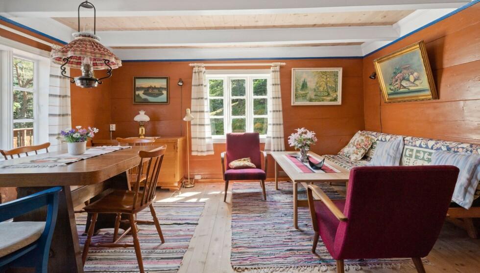 1867: Huset med lav takhøyde og tømmervegger har historie helt tilbake til 1867. Foto: Imotiv AS
