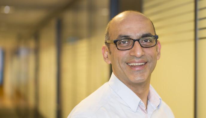 LOVORD: Shahzad Rana har bred erfaring som entreprenør. Han startet sitt første selskap i 1993 i kjølvannet av det teknologiske skiftet som skjedde fra MS-DOS til Microsoft Windows. Han har tilbragt hele sin yrkesaktive karriere i IKT-bransjen. Foto: Microsoft Norge
