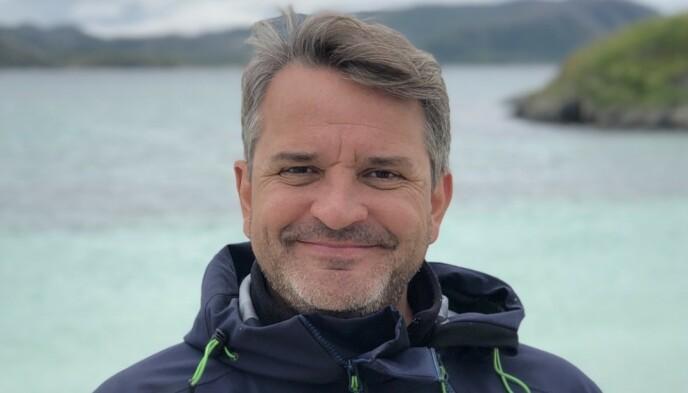 SALGSDIREKTØR: Franskfødte Franck Vogt har gjort karriere på å selge Norge til utenlandske turister. Foto: Privat