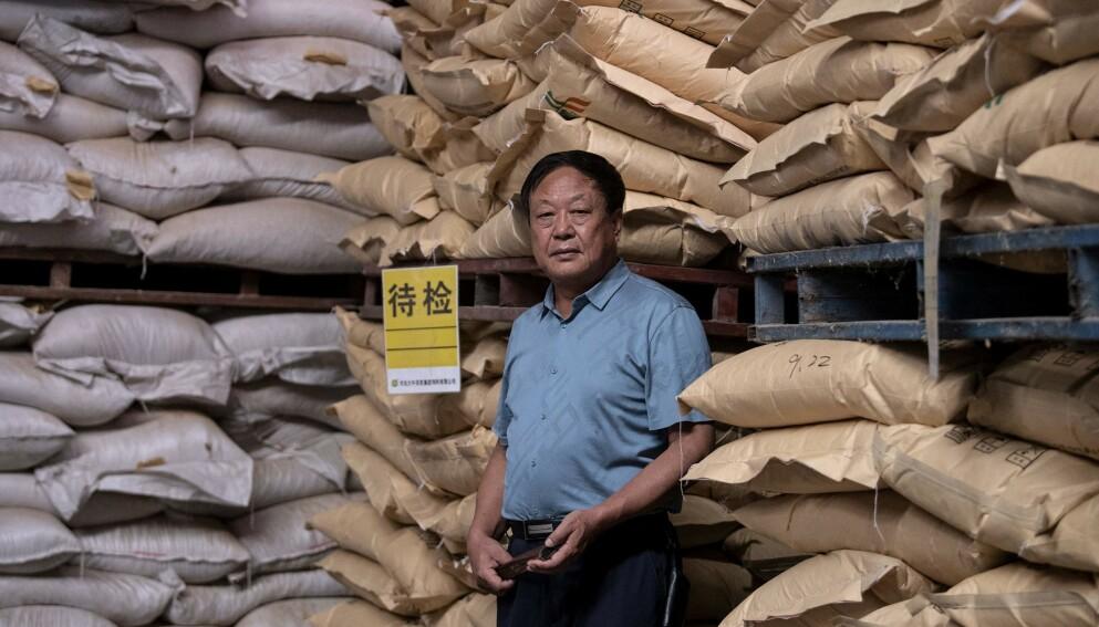 REGIMEKRITIKER: Den frittalende kinesiske milliardæren er blitt dømt til 18 års fengsel. Foto: Noel Celis / AFP / NTB