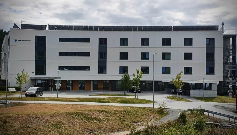STRIDENS KJERNE: Eidet omsorgssenter, som kommunen mener ikke holder kvaliteten som ble lovt. Foto: Ålesund kommune