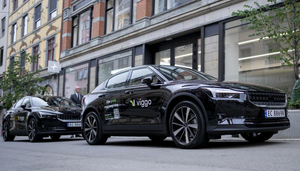 ELBIL: Viggo samarbeider med elbilprodusenten Polestar. Foto: Fredrik Hagen / Dagbladet