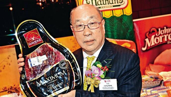ANKLAGES: Grunnleggeren av WH Group, Wan Long (81). Foto: ImageChina/Rex / Shutterstock editorial / NTB