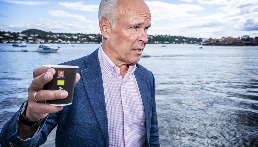 Finansminister Jan Tore Sanner mener partiene på venstresida underspiller at vanlige folk vil få økt skatt ved et regjeringsskifte. Foto: Hans Arne Vedlog / Dagbladet