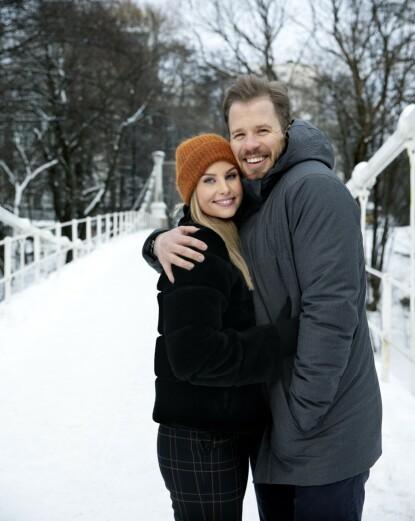 KJØPTE SAMMEN: Kjetil Jansrud og kjæresten Benedicte Mortensen. Foto: Kristin Svorte