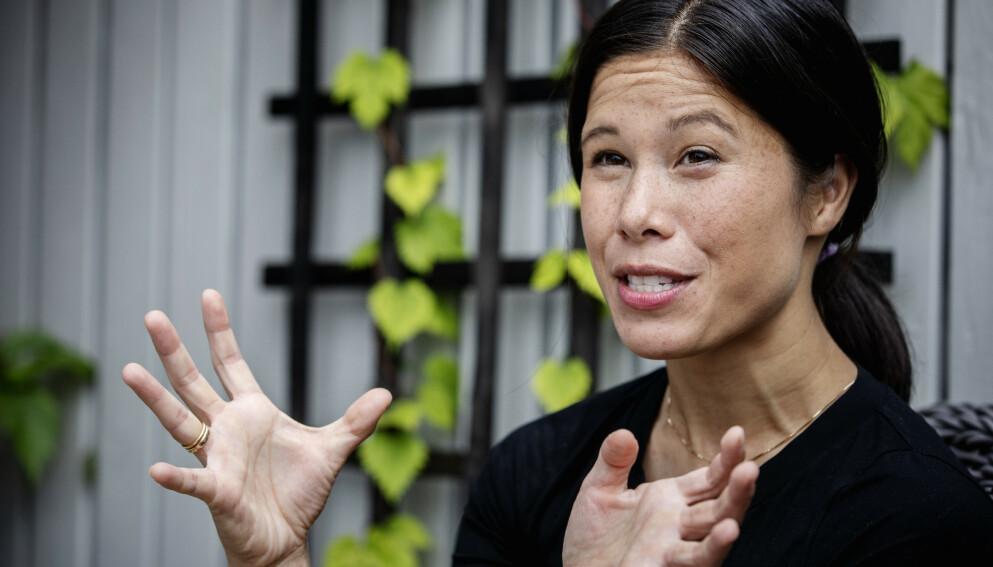BREMS: MDG-topp Lan Marie Berg vil bremse overgangene mellom toppverv i politikken og lobbybransjen. Foto: Nina Hansen / Dagbladet