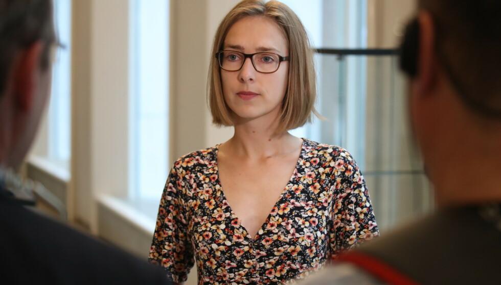 ÅPENT: Næringsminister Iselin Nybø (V) sier lobbyvirksomhet er en del av oljebransjens virksomhet, men maner statseide Equinor til størst mulig åpenhet. Foto: Bjørn Langsem / Dagbladet