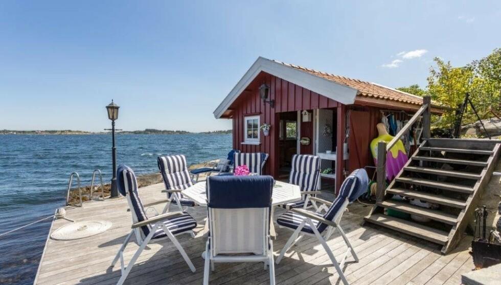 GIR SLIPP: Ellertsen forklarer at alderen er blant årsakene til at han og kona nå selger eiendommen. Foto: Privat