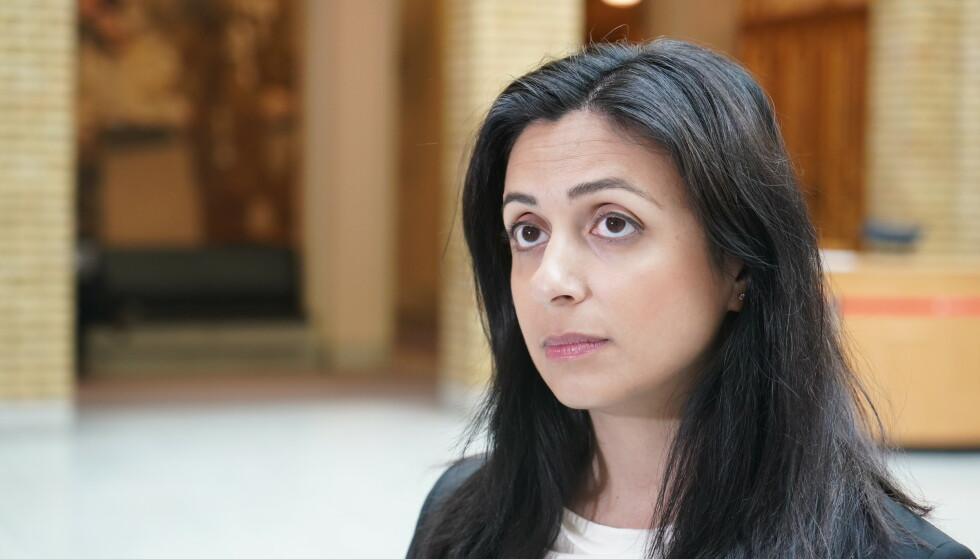 - SPRER FEILAKTIG INFORMASJON: Det mener Ap-nestleder Hadia Tajik. Foto: Hans Arne Vedlog / Dagbladet